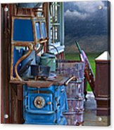Stove - Appliance - Cooker - Kitchen  Acrylic Print