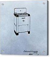 Stove Patent Acrylic Print