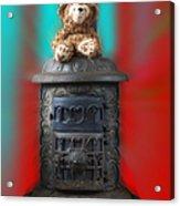 Stove Top Bear Acrylic Print