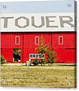 Stovers Farm Market Berrien Springs Michigan Usa Acrylic Print
