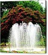 Stowe Fountain 2 Acrylic Print