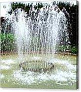Stowe Fountain 3 Acrylic Print