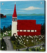 St.philip's Church 1999 Acrylic Print
