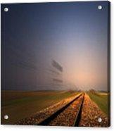 Straight As A Rail 02 Acrylic Print