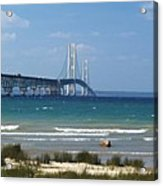 Straits Of Mackinac Acrylic Print