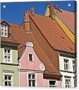 Stralsund Roofs. Acrylic Print