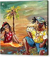 Stranded In Tahiti Acrylic Print