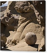 Strange Rocks 17  Acrylic Print