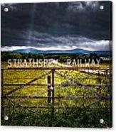 Strathspey Railway Acrylic Print