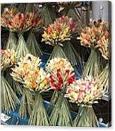 Straw Bouquets Acrylic Print