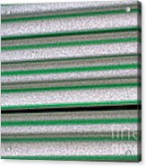 Straw Green Acrylic Print