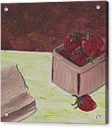 Strawberry Basket Acrylic Print