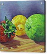 Strawberry Citrus Acrylic Print