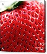 Strawberry Detail Acrylic Print