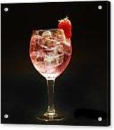 Strawberry Gintonic Acrylic Print
