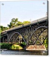Strawberry Mansion Bridge And The Schuylkill River Acrylic Print