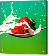 Strawberry Milk Acrylic Print