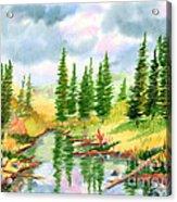 Strawberry Reservoir 2 Acrylic Print
