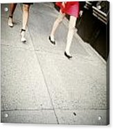 Strawberry Short Walk Acrylic Print