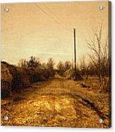 Strawmill Road Acrylic Print