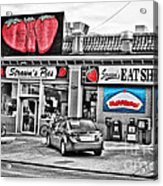 Strawn's Eat Shop Acrylic Print