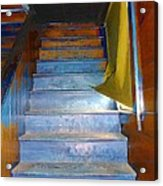 Stray Breeze On The Stairs Acrylic Print
