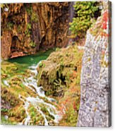 Stream In The Mountains Acrylic Print
