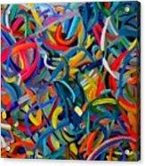 Streamers Of Joy Acrylic Print