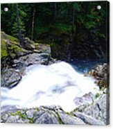 Streaming Down  Acrylic Print