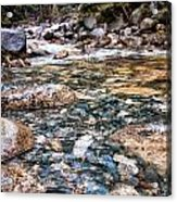 Streaming Acrylic Print