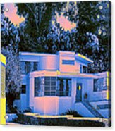 Streamline Moderne Acrylic Print