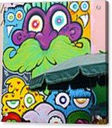 Street Art Lima Peru 2 Acrylic Print