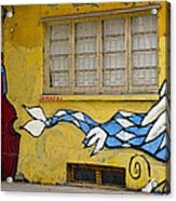 Street Art Valparaiso Chile 12 Acrylic Print