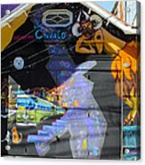 Street Art Valparaiso Chile 5 Acrylic Print