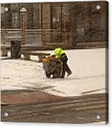 Street Cleaner Acrylic Print