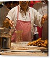 Street Cook - Hot Job Acrylic Print