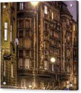 Street Corner Budapest Acrylic Print