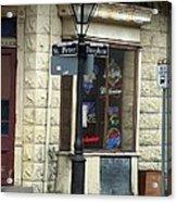 Street Corner In New Orleans Acrylic Print