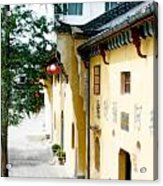Street In Anhui Province China Acrylic Print