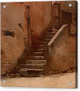 Street In Italy Acrylic Print