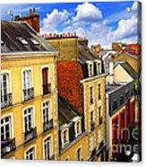 Street In Rennes Acrylic Print
