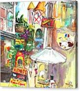 Street In Saint Martin Acrylic Print