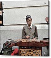 Street Jams Chinatown New York City Acrylic Print