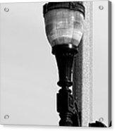 Street Lamp In Bonners Ferry Idaho Acrylic Print