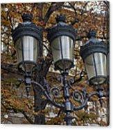Street Lamps Acrylic Print