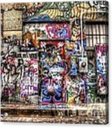 Street Life Acrylic Print