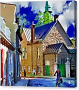 Street Life Series 01 Acrylic Print