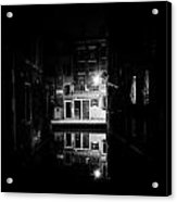 Street Mirror Acrylic Print