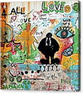 Street Mural At Liguanea Acrylic Print