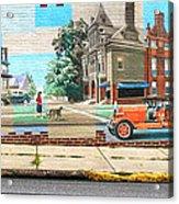 Street Mural Acrylic Print